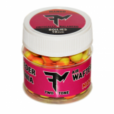 Boilies FEEDERMANIA AIR WAFTERS TWO TONE BOILIE 8MM - MANGO