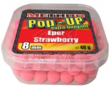 Boilies Top Mix Method Pop-Up boilie Jahoda 8mm 40g