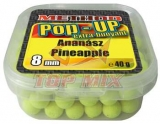Boilies Top Mix Method Pop-Up boilie Ananás 8mm 40g