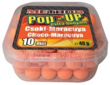 Boilies Top Mix Method Pop-Up boilie Čokoláda - Maracuya 10mm 40g