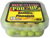 Boilies Top Mix Method Pop-Up boilie Ananás 10mm 40g