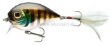 Wobler Team Cormoran Belly Dog N chrome perch 6,8cm
