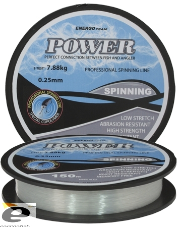 Vlasec Energoteam Power Spinning 150m 0,30mm 11,20kg
