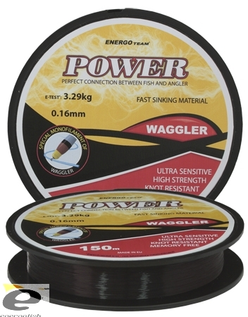 Vlasec Energoteam Power Waggler 150m 0,18mm 3,92kg
