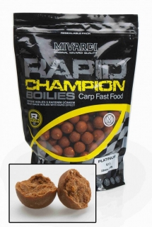 Boilies MIVARDI Rapid Champion Platinum B17 950g 18mm