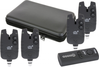 Carp Expert Enza radio digital set 3+1