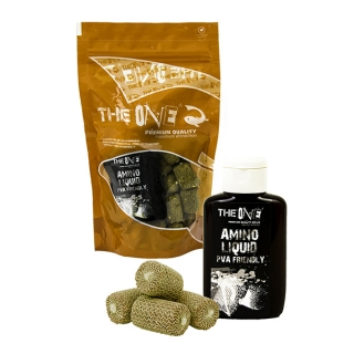 THE ONE PVA boilies + 100ml dip PURPLE