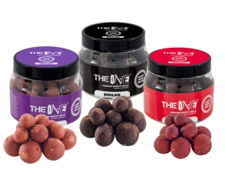 Boilies na háčik The One Red 150g soluble boilies (mix 14-18-20mm)