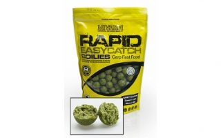 Boilies MIVARDI Rapid Easy - Cesnak + Chilli 950g  18mm