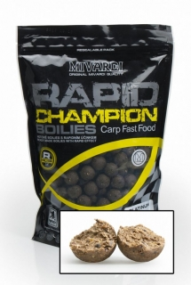 Boilies MIVARDI Rapid Champion Platinum Crazy Liver 180g 15mm