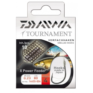 Naviazané háčiky DAIWA Tournament X Power Feeder č. 6