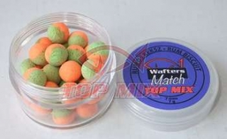 Mini boilies Top Mix Match Wafters Rumový keks 7mm 7g
