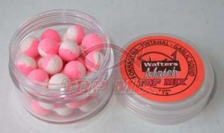 Mini boilies Top Mix Match Wafters Cesnak-squid 7mm 7g