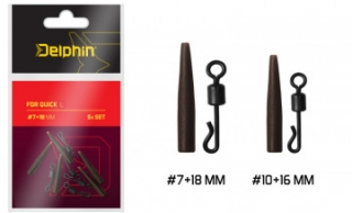 Delphin FDR Quick S / Set 5ks #10+16mm